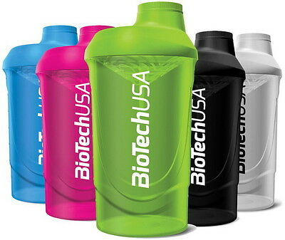 Biotech USA Shaker Wave Bottle 600ml + Sample Protein Iso Whey Zero 25g.
