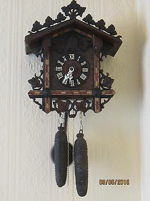 Antique Cuckoo Clock circa 1900.
