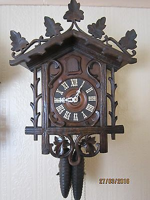Antique Cuckoo Clock, possibly by Philipp Haas & Son