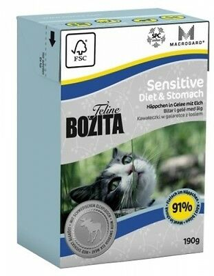 Bozita Cat Tetra Recard Diet & Stomach - Sensitve 190g