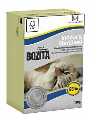 Bozita Cat Tetra Recard Indoor & Sterilised 190g