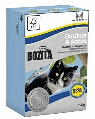 Bozita Cat Tetra Recard Outdoor & Active 190g