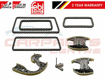 For Audi A4 A6 A8 Q7 Vw Touareg Upper Lower Diesel Engine Febi Timing Chain Kit
