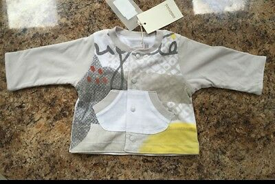 Brand New Designer Catmini Baby Boy Cardigan Cardigan with Tags