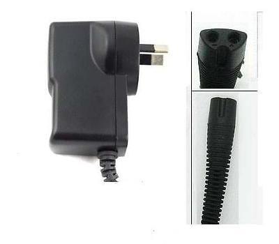 AU Plug For Braun Shaver Charger Power Lead Cord *(FITS MOST Braun TYPES)*