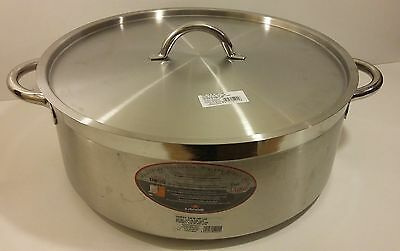 Lacor-54045- LARGE CASSEROLE PAN WITH LID D.45 CM CHEF LUXE