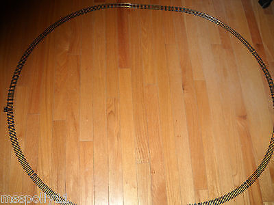 "Model Power ""ho"" Scale Starter Set Of Oval Train Track About 42"" X 36"" Inches"