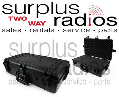 Tactical Weatherproof Equipment Radio case Rentals Motorola CP200D CP185 BPR40