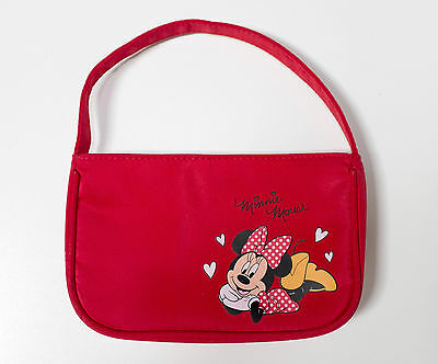 Girls Minnie Mouse Red Purse - Official Disney Genuine Product VGC