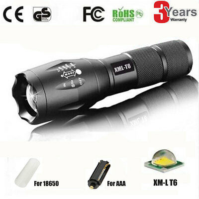 Zoomable Linterna Flashlight Luz 2600lm CREE T6 LED Linterna Focus Sports Torch