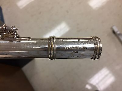 Gemeinhardt M3s Flute Solid Silver With B Foot