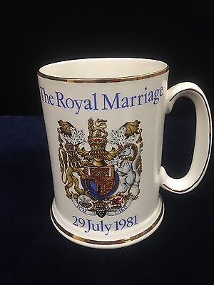 Royal Wedding Of HRH The Prince Of Wales And Diana Spencer Mug By Wood And Sons