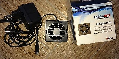 Brand New Boxed Red Sea Max 130 130D Cooling Fan Kit With Power Supply Cable