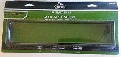 Gibraltar Mailboxes Stainless-Steel Mail Slot Sleeve