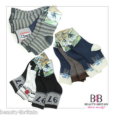 30 Pairs Boy Socks 8-12 Years Cotton Rich 95% Wholesale  Different Designs