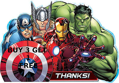Superhero Marvel Iron Man Hulk Batman Spiderman Captain America Foil Balloons