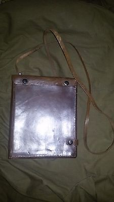 Soviet officer field bag for maps WW2 original 1939 year