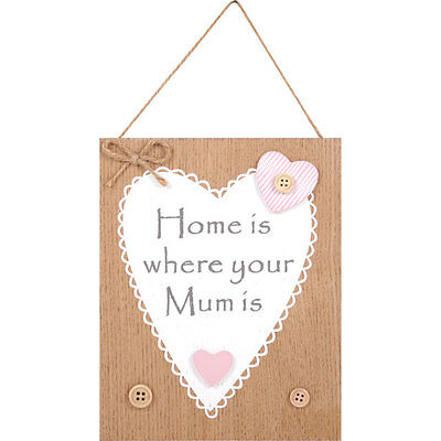 Home Is Where Your Mum Is Plaque