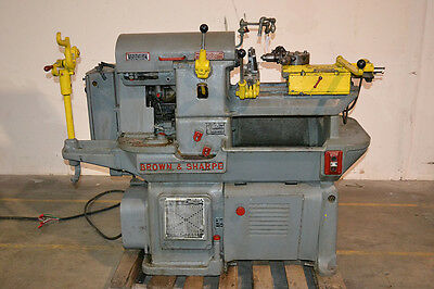 Brown & Sharpe Screw Machine