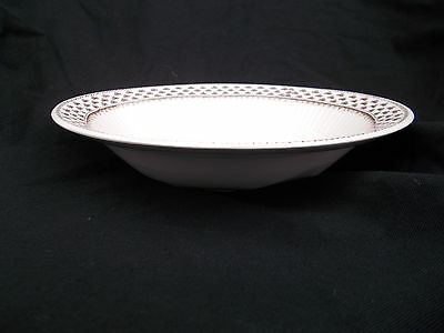 Adams SHARON Rimmed Soup Plate. Diameter 9 inches.