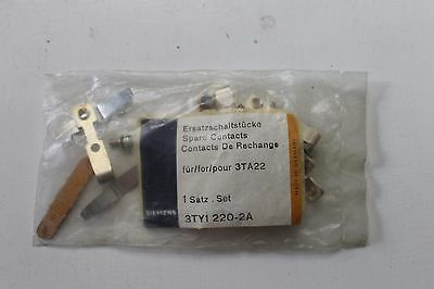 Siemens 3TY1 220-0A contact repair and replacement kit