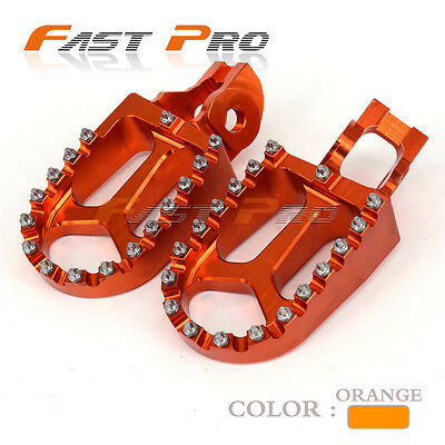 Billet Foot Pegs Rests Pedals For KTM SX 125 150 SXF XCF 250 350 450 2016