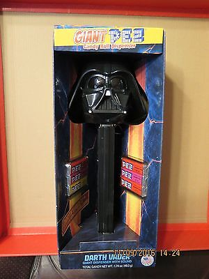 Star Wars Darth Vader Giant Pez Candy Roll Dispenser With Sound New in Box
