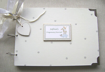 Personalised. Pregnancy Journal. A4 Size..photo Album/scrapbook/memory Book.
