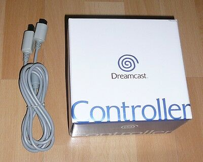 Sega Dreamcast CONTROLLER New Original in Box Never Opened & Extension Cable