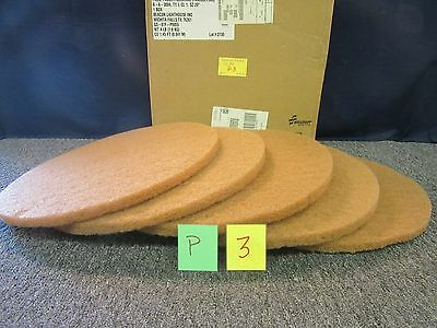 """5 Skilcraft Floor Polishing Pads Buffing 20"""" A-A-30004 Cleaning Brush Floor New"""