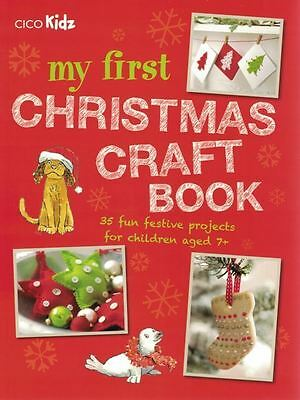 My First Christmas Craft Book by Dog 'n' Bone Books NEW