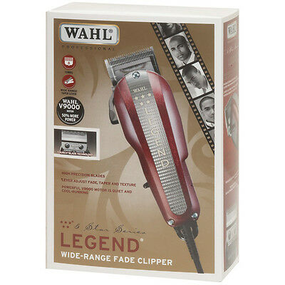 New Wahl Professional 5 Star Series Legend Fade Clipper Model #8147