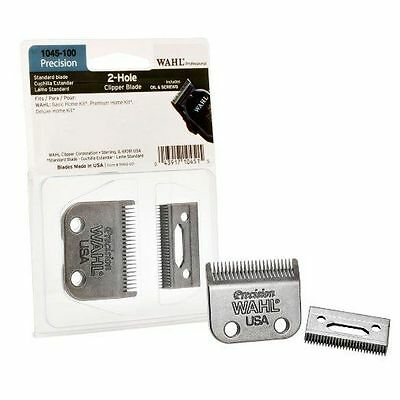 Wahl Blade Replacement Set for Pro 2 Hole Precision Clipper Blade 1045-100