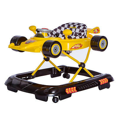 Dream On Me Victory Lane Activity Walker - Yellow