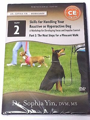 Skills for Handling Your Reactive or Hyperactive Dog Part 2 NEW DVD 135 Minutes