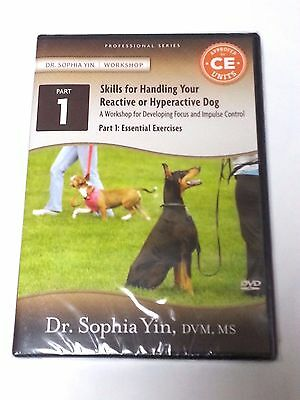 Skills for Handling Your Reactive or Hyperactive Dog Part 1 NEW DVD 132 Minutes