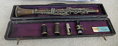 M Dupont Clarinet  2 barrels 2 mouth pieces