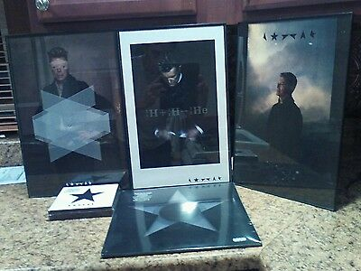 David Bowie Blackstar Clear Vinyl With  Litographs And Limited Cd/new,sealed!