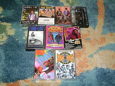 OLD SCHOOL HIP HOP 5 Cassette Lot DOGG POUND Coolio WE'RE ALL IN THE SAME GANG