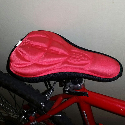 Cycling Bicycle Silicone Non-slip Saddle Seat Cover Cushion Soft Pad GT
