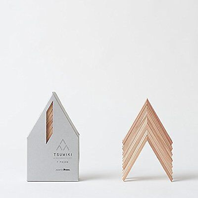 Wood Building Blocks Tsumiki 7 pieces design by Kengo Kuma for Moretree