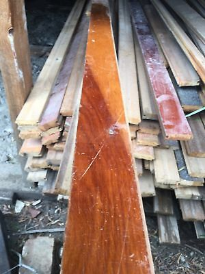 Heartwood Rimu Floorboards 65mm Wide. Price Per Lineal Metre Reclaimed Recycled