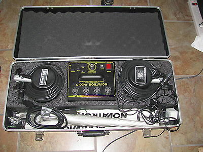 Novatron V400D Kit 2 Lamps With Cables, Power Head, 3 Umbrellas, And Case