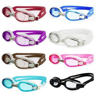 Adjustable Sports Swimming Adult Goggles Anti Fog Silica Gel Glasses  GT