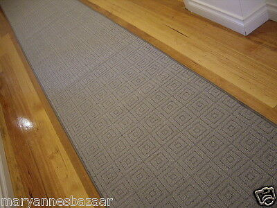 Hall Runner Rug 5 Metres Long Modern Designer Grey FREE DELIVERY