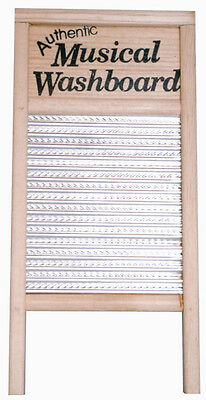 TROPHY - MUSICAL WASHBOARD, Wooden framed rhythm instrument