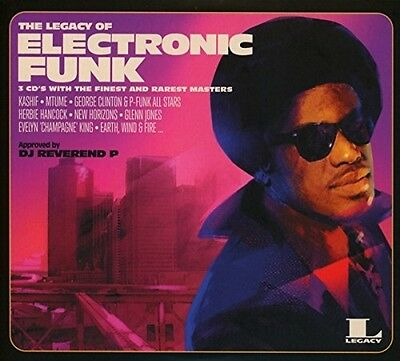 The Legacy of Electronic Funk - VARIOUS [3x CD]