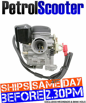 Carburettor Carb Fits 50cc Chinese Scooters Automatic Choke Baotian QT9