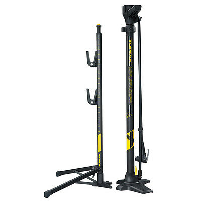 Topeak Transformer™ XX Portable Bicycle Track Pump   Bicycle Stand 160 PSI