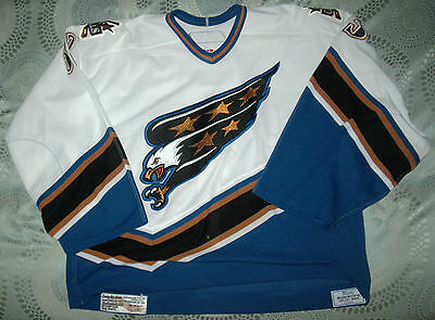 Washington Capitals Game Issued Goalie Jersey Maxime Daigneault 64G